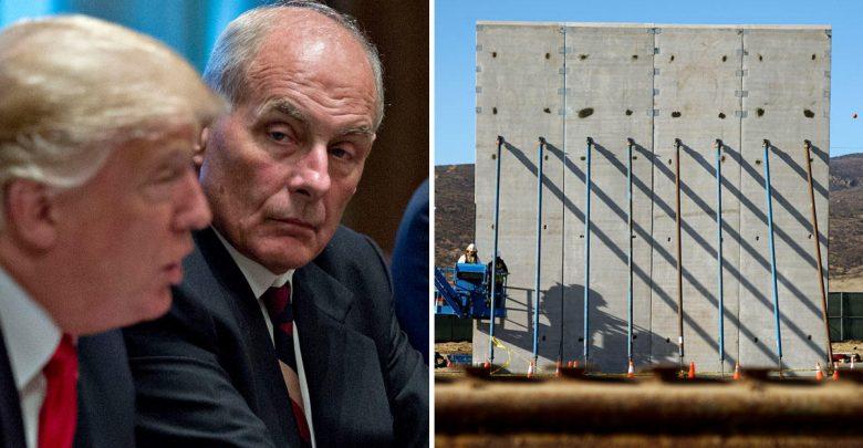 John Kelly: barda fronteriza no sería un muro de concreto 1