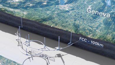 El plan del CERN para un colisionador de 100 km hace que el LHC parezca un aro de hula