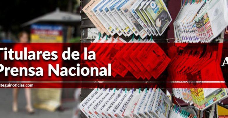 Inyección de 5 mmdd a Pemex; padres de normalistas exigen a AMLO la cabeza de Tomás Zerón | Titulares 12/09/2019 1