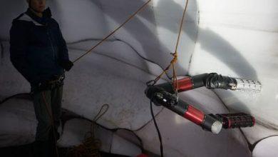 El gusano robótico de la NASA podría algún día escalar picos de hielo alienígenas