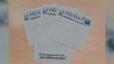 En blanco… así fue la portada de 'La Prensa' de Nicaragua para protestar contra censura de Daniel Ortega