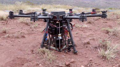 Photo of Este drone de excavación de agujeros se lanza en paracaídas para hacer el trabajo.
