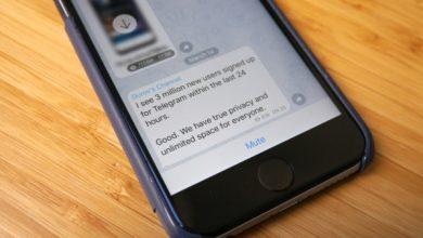 Photo of Telegram obtiene 3M nuevos registros durante la interrupción de las aplicaciones de Facebook
