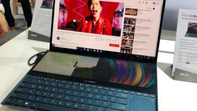 ASUS se apoya en computadoras portátiles de pantalla dual con el ZenBook Pro Duo, con dos pantallas táctiles 4K
