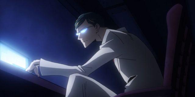 Muerte Arco Guerra My hero Academia  Nighteye