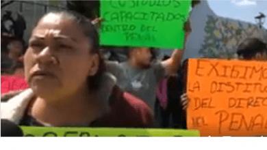 Siguen agresiones contra internos del penal de San José El Alto, denuncian en protesta familiares
