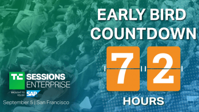 Photo of Quedan 72 horas con precios anticipados para TC Sessions: Enterprise 2019