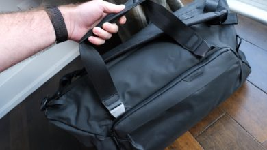 Travel Duffel 35L de Peak Design es tan simple o tan poderoso como lo necesita para ser