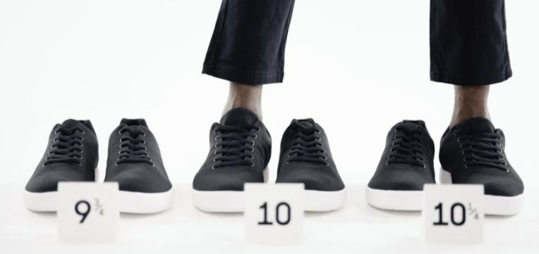 Atoms nabs $ 8.1M para zapatos que puede comprar en cuartos de tamaño y medidas separadas izquierda / derecha