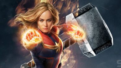 Photo of Brie Larson del Capitán Marvel puede levantar totalmente Mjolnir