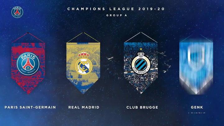El Real Madrid se medirá a PSG, Brujas y Galatasaray 1