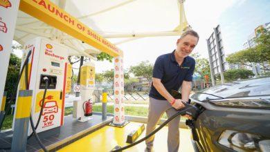 El primer cargador rápido de vehículos eléctricos de Shell aterriza en Singapur