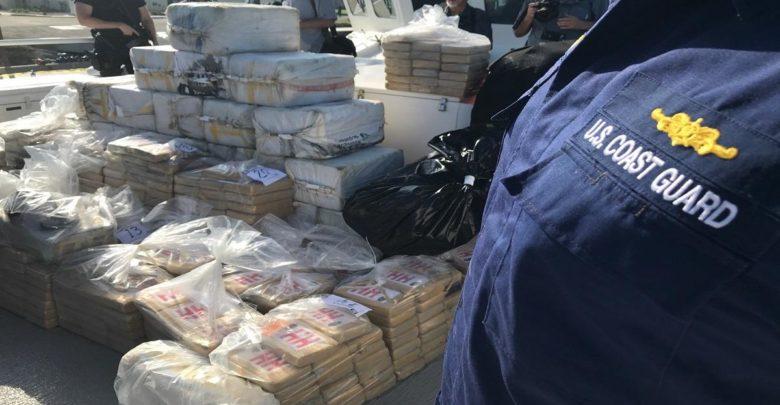 Guardia Costera incauta cargamento millonario de cocaína 1