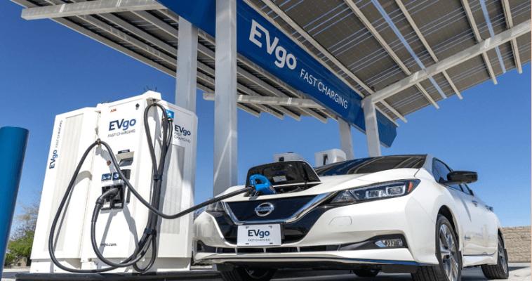 Nissan y EVgo agregarán 200 cargadores rápidos a medida que más vehículos eléctricos lleguen a las carreteras de EE. UU.