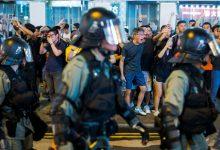 Profesores se suman en la undécima jornada de protestas en Hong Kong
