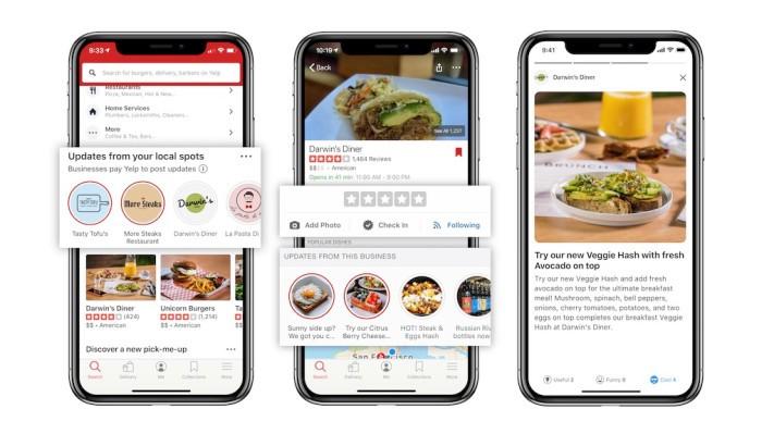Yelp agrega tiempos de espera predictivos y una nueva forma para que los restaurantes compartan actualizaciones
