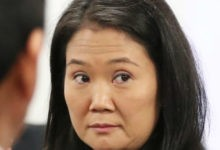 Hospitalizan a Keiko Fujimori de urgencia