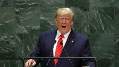 """Agradece Trump a AMLO desde la ONU por """"poner a 27 mil soldados en nuestra frontera sur"""""""