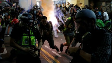 Denuncian uso excesivo de fuerza contra manifestantes en Hong Kong