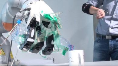 Photo of Este brazo protésico combina control manual con aprendizaje automático
