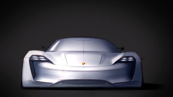 La evolución totalmente eléctrica de Porsche: del boceto al concepto de Misión E a Porsche Taycan