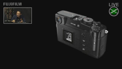 La próxima cámara X-Pro3 de Fujifilm tiene un diseño único que seguramente atraerá a los fotógrafos de cine