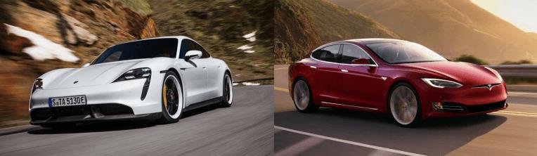 Porsche Taycan vs Tesla Model S: especificaciones para especificaciones, precio para precio