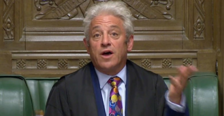 Se obligará a Johnson a cumplir la Ley sobre Brexit: Bercow