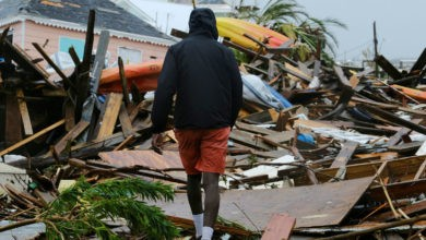 Van 30 muertos en Bahamas por huracán Dorian