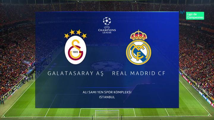 Champions League Resumen y Goles del Partido Galatasaray-Real Madrid