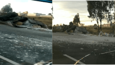 6 muertos en fatal accidente en autopista México-Querétaro, tráiler impacta y arrolla a varios autos