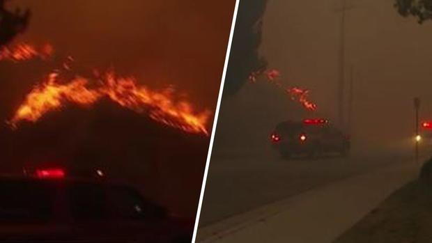 [TLMD - LA] Llamas de incendio en Canyon Country consume casas
