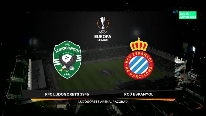 Europa League Resumen y Goles del Partido Ludogorets-Espanyol