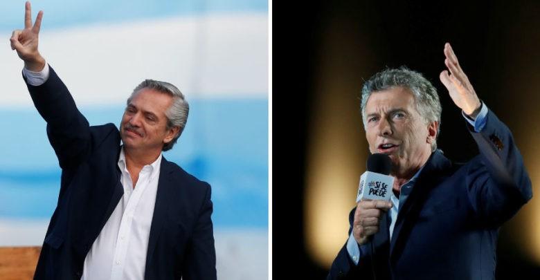 Fernández y Macri cierran campañas rumbo a las elecciones del domingo en Argentina