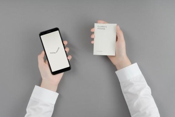 """Google presenta nuevos """"experimentos"""" de bienestar digital como un buzón de notificaciones, un reloj de desbloqueo e incluso un teléfono de papel"""