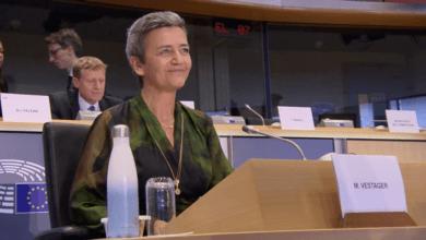La jefa antimonopolio recargada de Europa hace su presentación de cinco años para ser EVP digital