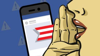 Las nuevas características de Facebook luchan en las elecciones en todas partes, excepto en los anuncios
