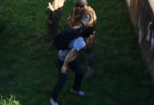 Militar dispara a corta distancia en la pierna a ciudadano y luego lo somete, en Chile | Videos