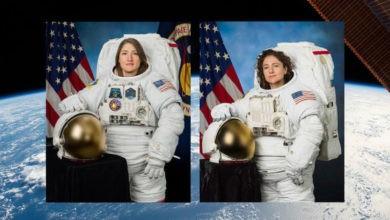 Realizan la primera caminata espacial con solo mujeres | Foto y Video
