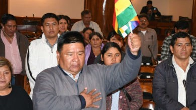 Aliado de Evo, electo presidente de la Cámara de Diputados de Bolivia