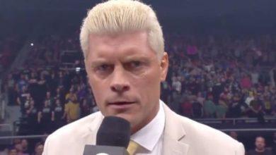 Photo of Cody Rhodes dice que la disputa entre los fanáticos de AEW y NXT es tóxica