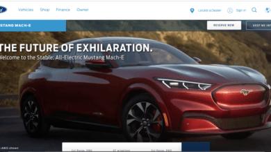 El SUV totalmente eléctrico Mustang Mach-E de Ford revelado en fotos filtradas, precios y configuraciones