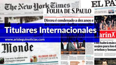 Inician audiencias sobre Trump-Ucrania, violencia en Bolivia y más | Primeras planas del mundo 14/11/19