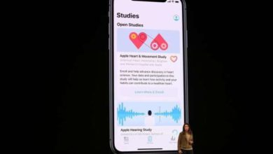 La aplicación Apple Research llega a iPhone y Apple Watch con tres estudios de salud opcionales