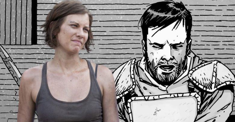 La temporada 10 de Walking Dead descarta una gran historia cómica de Maggie 1