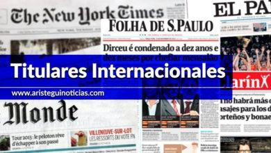 Photo of Trump enfrentaría cargo por soborno y Sánchez plantea diálogo con Cataluña   Primeras planas del mundo 15/11/19