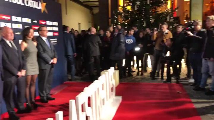 Alfombra roja de la Gala de las Estrellas del Fútbol Catalán