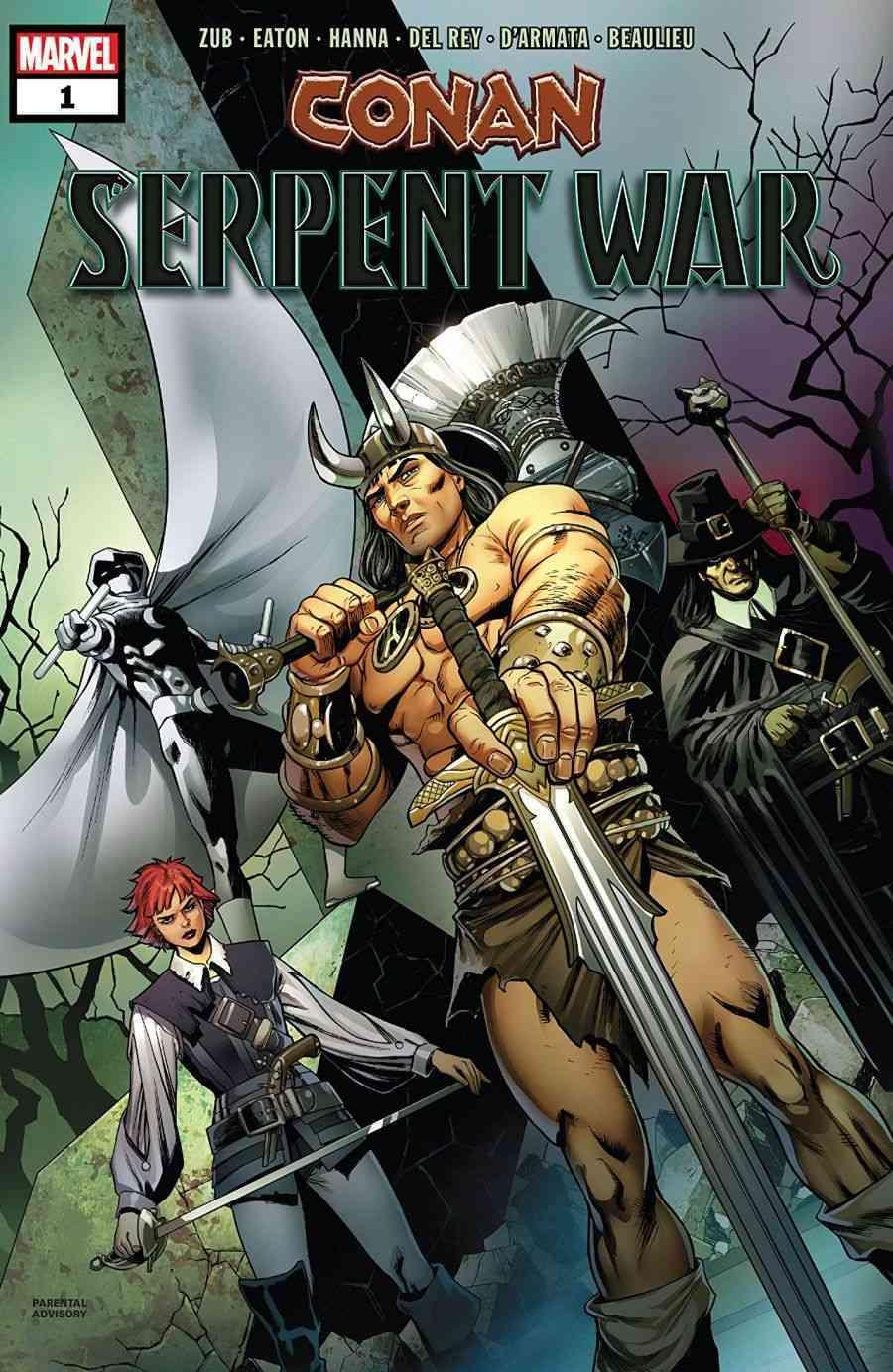Conan Serpent War # 1