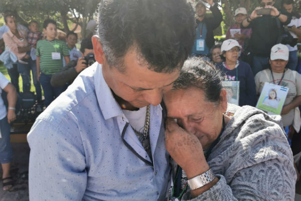 Acaba Caravana de Madres de Migrantes Desaparecidos; se rencuentran 6 familias 4