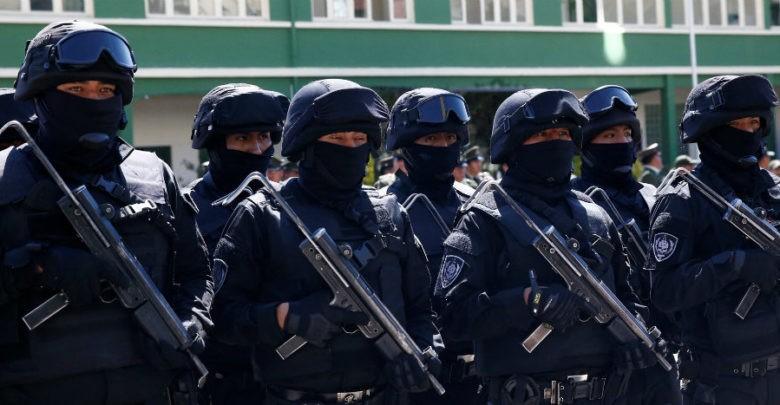 Bolivia estrena grupo élite antiterrorista